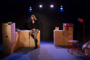 Nederland, Utrecht, 2013'Gaandeweg', theatervoorstelling Debby Petter, Hekwerk-theaterproductiesFoto Bob Bronshoff