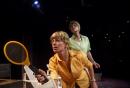 """Nederland, Almere, 2009Wivineke van Groningen en Debby Petter , """"Mijn Man"""" tekst Youp van 't Hek, Regeie Mike van DiemFoto Bob Bronshoff"""