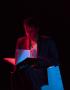 Nederland, Nieuwegein, 2013'Electropis', Henry van Loon, Hekwerk theaterproductieFoto Bob Bronshoff