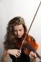 Nederland,Amsterdam, 2015 Seringe Huisman, violiste, Voorzitter van het Sweelinck orkest  Foto: Bob Bronshoff