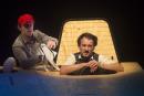 Nederland,Nieuwegein, 2014Schudden, met het programma 'Henk', Hekwerk theaterproductiesFoto: Bob Bronshoff