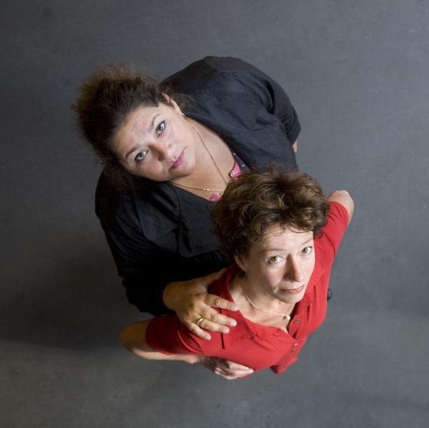 Annet Malherbe en Ria Marks