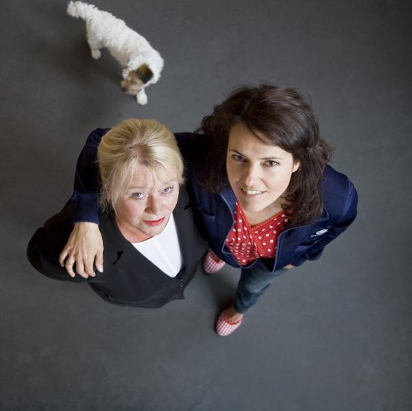 Cecile Heuer en Susan Visser