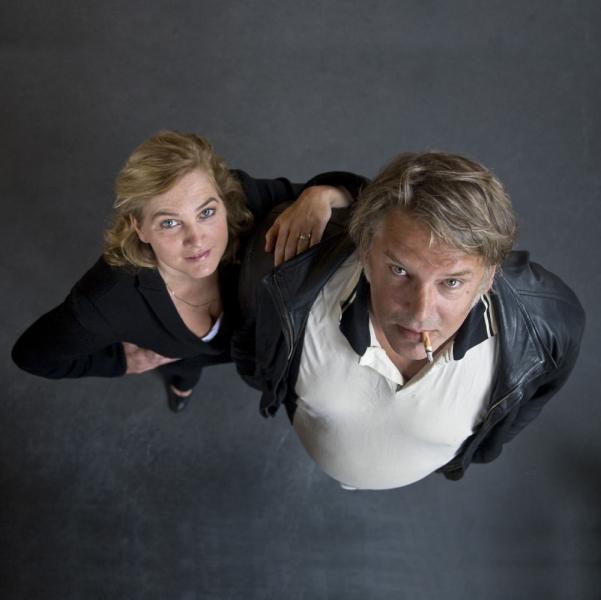 Anneke Blok en Jack Wouterse