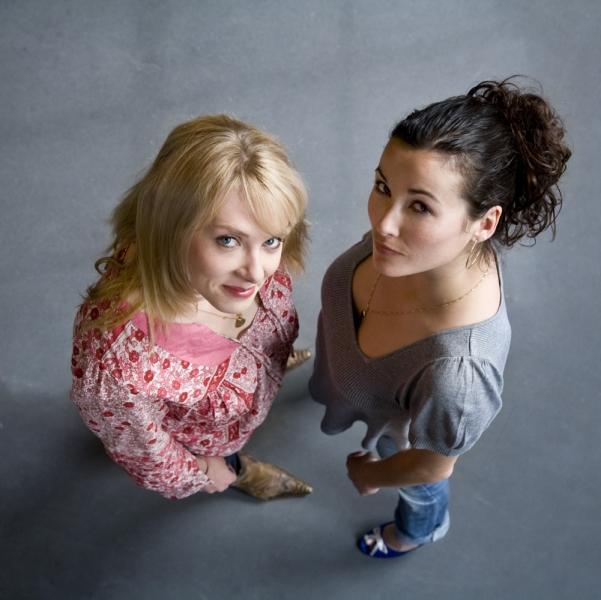 Jelka van Houten en Birgit Schuurman