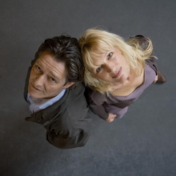 Pierre Bokma en Johanna ter Steege