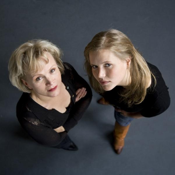 Renée Soutendijk en Caro Lenssen