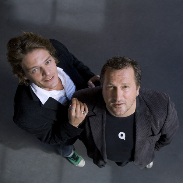 Tygo Gernandt en Marcel Musters