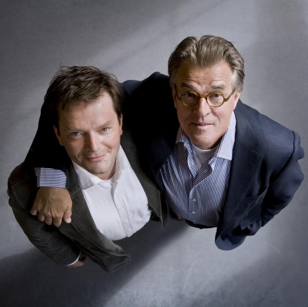 Victor Löw en Jeroen Krabbé