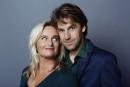Nederland, Amsterdam, 2014Martine Sandifort en Remko Vrijdag, Hekwerk TheaterproductiesFoto Bob Bronshoff